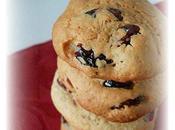 Cookies Vanille, l'Avoine Cranberries