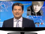 Justin Bieber passage télé Suisse (Vidéo)