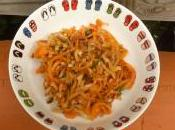 Spaghettis carottes panais