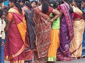 lanka saris couleurs