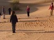 Qi-Qong désert dans montagnes troglodytes Tunisie