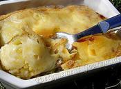 Gratin céréales parfumé poireaux fromage raclette