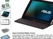 processeur Intel pour l'Asus Slider