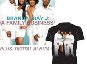 L'album familial Brandy/Ray-J pour Juin.