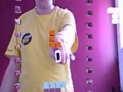 Kinect Wiimote Tetris réalité augmentée