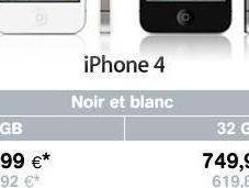 Mobistar déjà vendu iPhone blancs