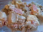 Gratin d'endives brousse saumon