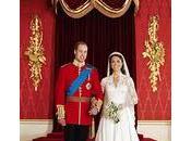 Mariage princier: photos officielles Kate William