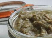 Tapenade d'olives vertes sans huile