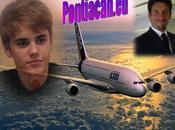 Justin Bieber comporte enfant dans avion australien