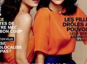 Leïla Bekhti Géraldine Nakache: »Wesh, meuf rebeu couverture Glamour