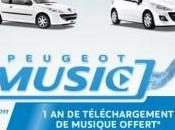 Vraiment musique avec Peugeot Music
