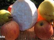 Tarte camembert pommes poires caramélisées pâte brisée cidre