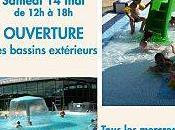 samedi mai, ouverture bassins extérieurs piscine Muriel Hermine, animations gratuites