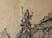Ville Béziers s'offre dessin représentant l'inauguration Canal Midi, 1681