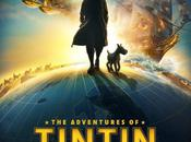 Aventures Tintin premières affiches