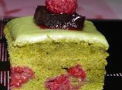variations autour gâteau yaourt matcha/framboise/hibiscus