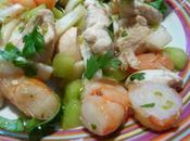 Salade terre mer, régal totale impro