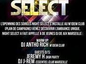 Jeudi opening night select m'idem club (plan campagne)