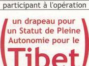 Drapeau Pour Statut Pleine Autonomie Tibet