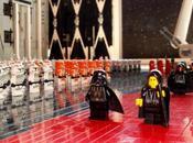 Star Wars scène l'arrivée l'Empereur LEGO