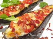 Aubergines gratinées Tomates Mozzarella Miel