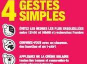 PRÉVENTION SOLEIL: L'INPES rappelle gestes simples INPES