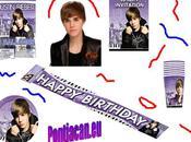 """Justin Bieber """"Party Kit"""" pour votre anniversaire"""