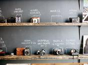 Black wall camera Levis Photo Workshop