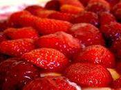 °pâte sablée, vanille fraise°