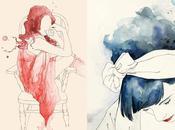 Emma Leonard: aquarelles romantiques