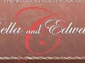 Signez livre d'or mariage Bella Edward