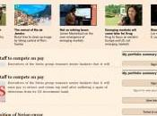 Presse numérique Financial Times développe WebApp