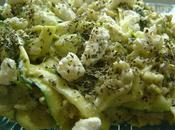 Pates likenn courgettes chevre