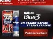 J'ai testé rasoir Gillette Pride Blue