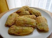 Madeleines jambon, olives morbier