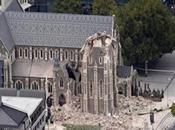 fort séisme magnitude secoue Christchurch Canterbury, l'Île Sud, Nouvelle Zélande.