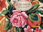 Canevas floral, broderies sentent l'été chez Aubusson