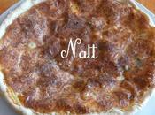 Tarte cancoillotte roquefort