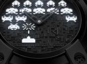 montre Space Invaders