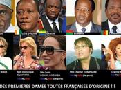 premières dames africaine toutes françaises