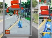 affiches Lego mélangent fiction réalité