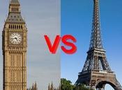 raisons pour Paris d'être jaloux Londres