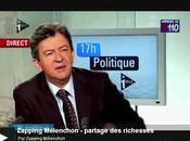 Zapping Mélenchon partage richesses