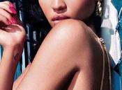 Cassie fait couverture magazine BLANK
