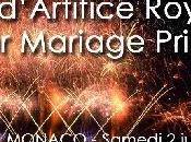L'illumination Monaco lors mariage Prince Albert c'est