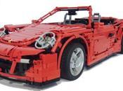 Porsche (997) Turbo Cabriolet Lego