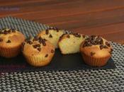 Muffins farine maïs pépittes chocolat