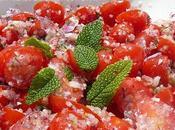 salade tomates menthe
