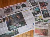 Harry Potter dans presse montréalais gratuite
